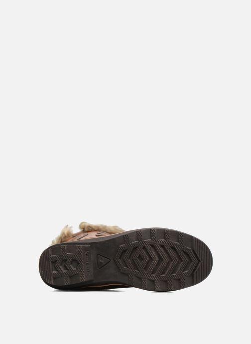 Chaussures de sport Kimberfeel Beverly Marron vue haut