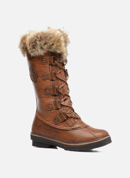 Chaussures de sport Kimberfeel Beverly Marron vue détail/paire