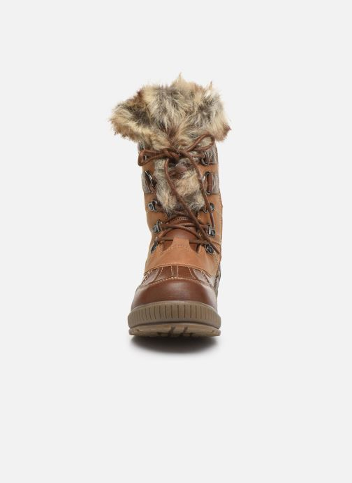 Chaussures de sport Kimberfeel Delmos Marron vue portées chaussures