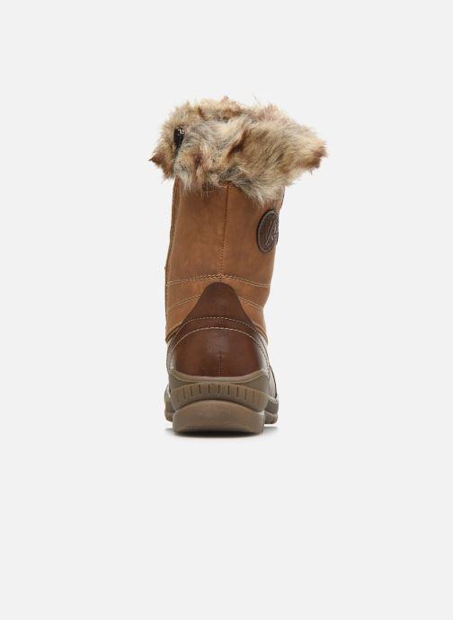 Chaussures de sport Kimberfeel Delmos Marron vue droite