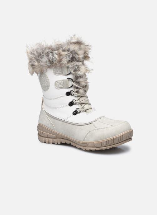 Sportssko Kimberfeel Delmos Hvid detaljeret billede af skoene