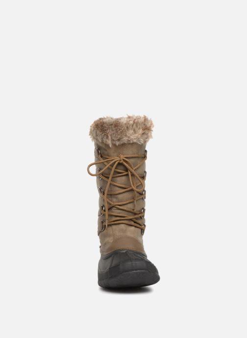 Chaussures de sport Kimberfeel Oceane Marron vue portées chaussures