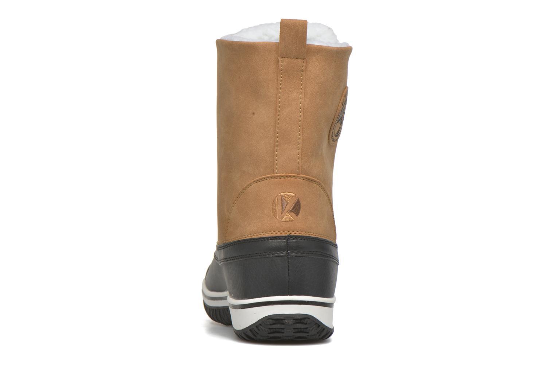 Zapatillas de deporte Kimberfeel Loris Beige vista lateral derecha