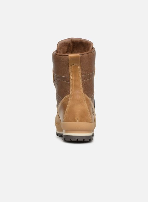 Chaussures de sport Kimberfeel Helsinki Beige vue droite