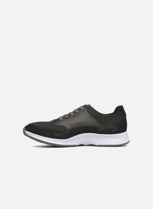 Sneaker Lacoste Joggeur Lace 416 1 schwarz ansicht von vorne