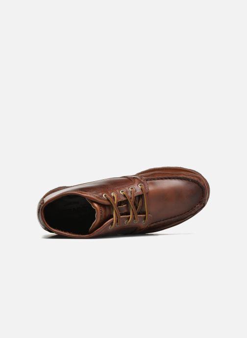 Boots en enkellaarsjes Sebago Vershire Chukka Bruin links
