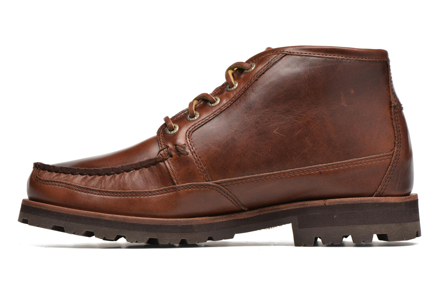 Ankle boots Sebago Vershire Chukka Brown front view