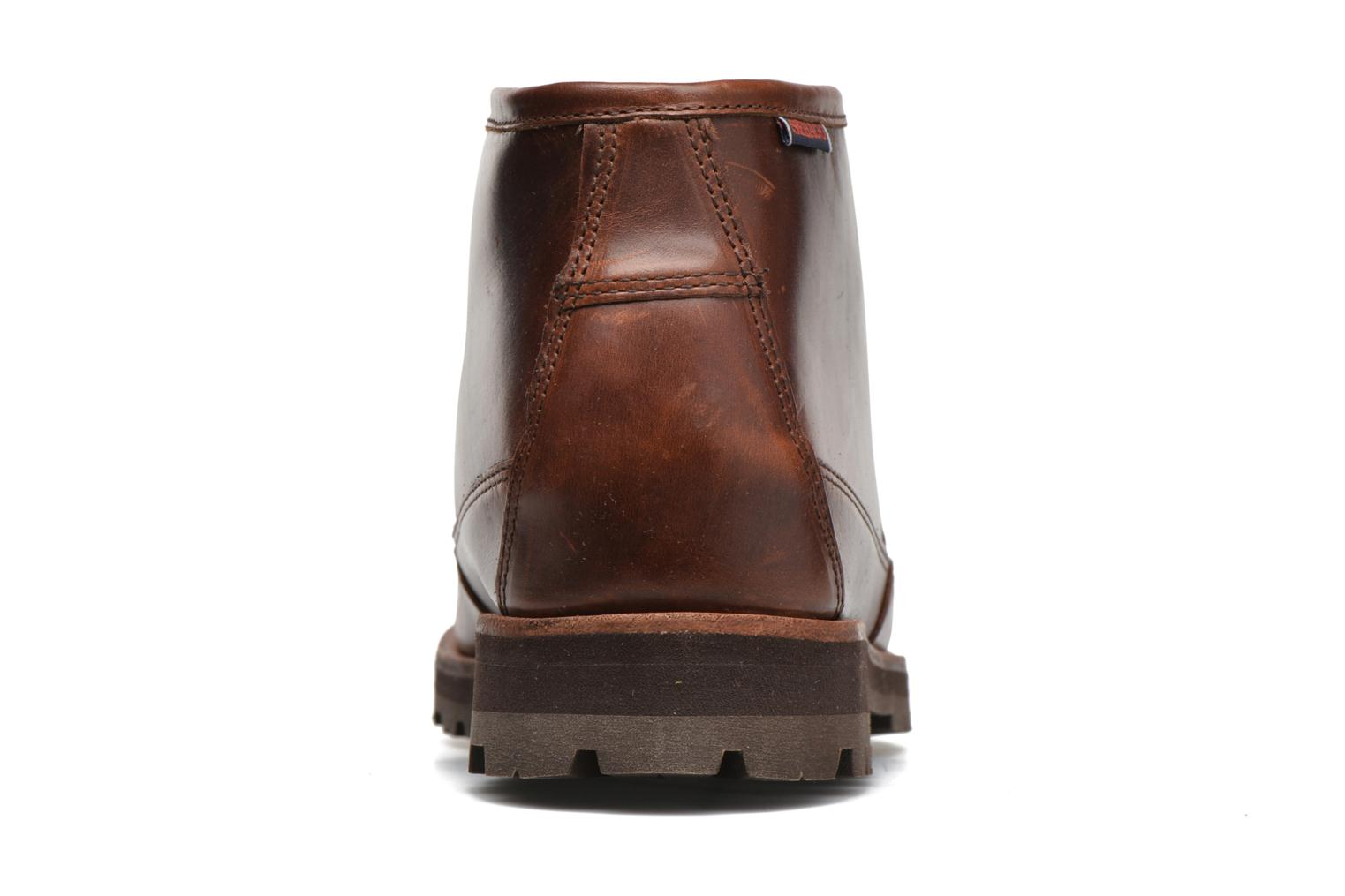 Ankle boots Sebago Vershire Chukka Brown view from the right