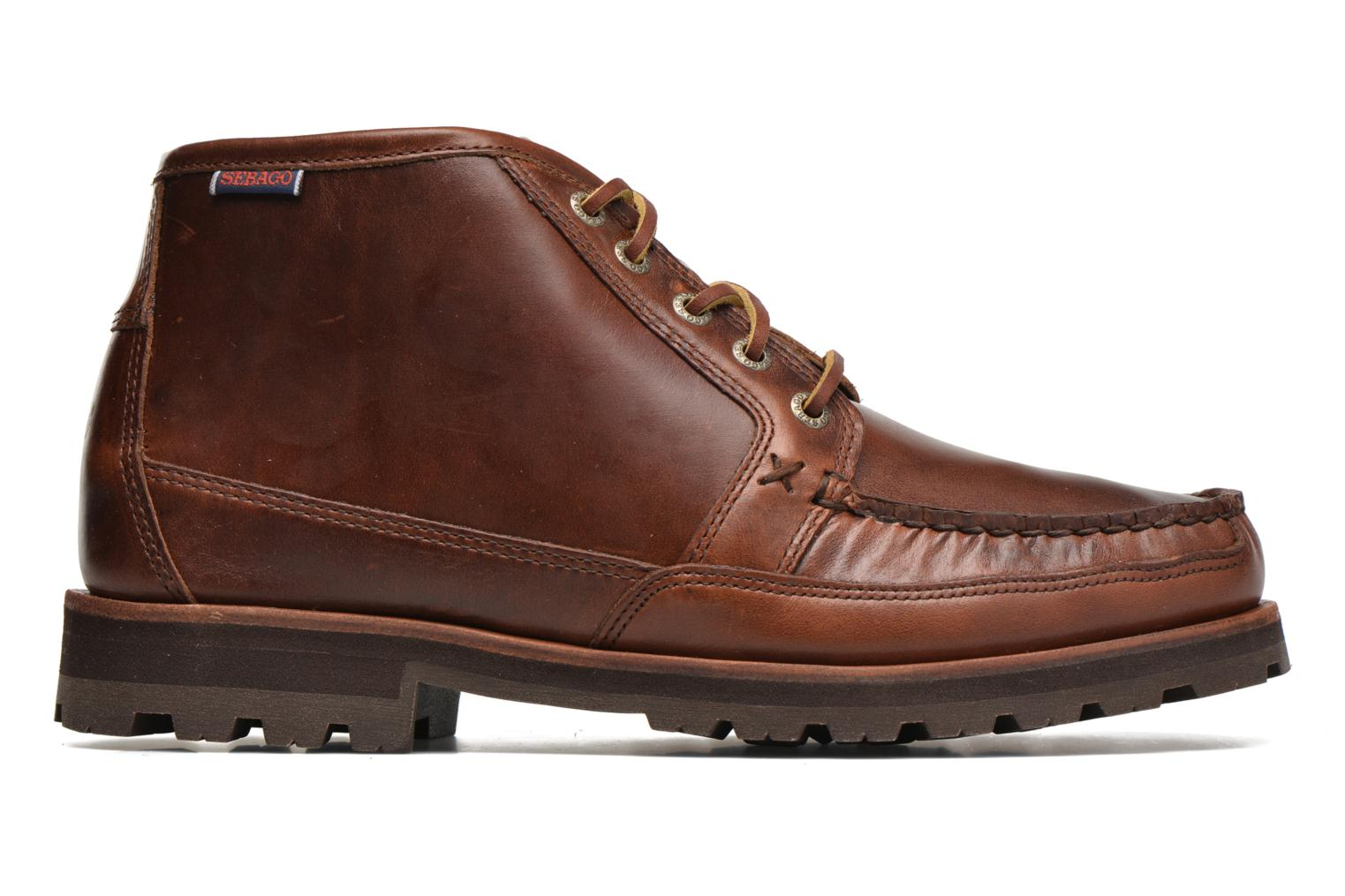 Ankle boots Sebago Vershire Chukka Brown back view