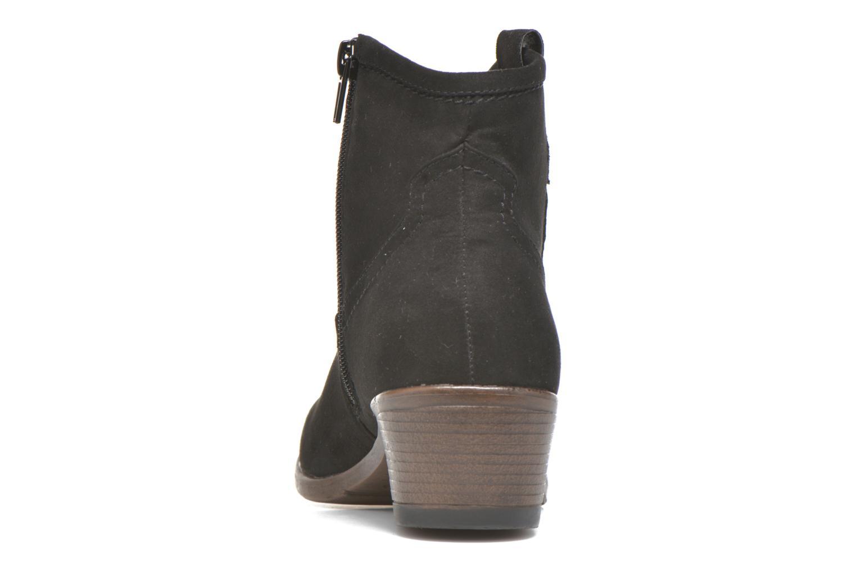Botines  I Love Shoes THOVE Negro vista lateral derecha