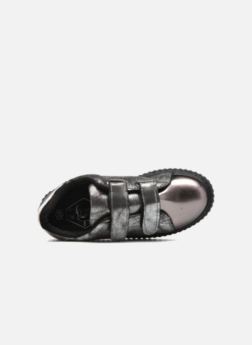 Deportivas I Love Shoes THEVI Plateado vista lateral izquierda