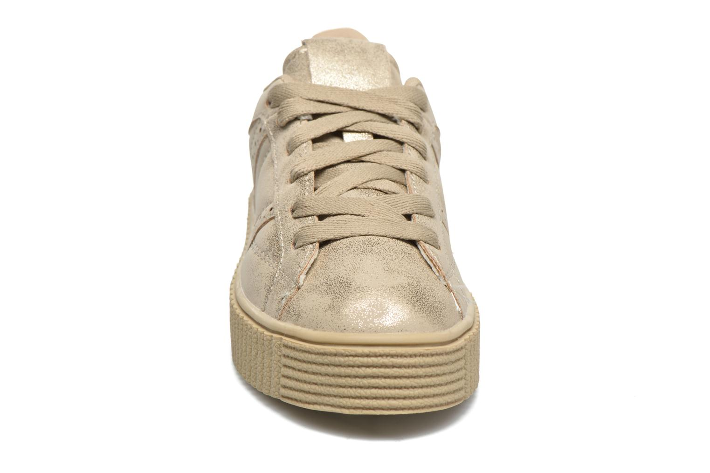 Deportivas I Love Shoes THAMI Oro y bronce vista del modelo