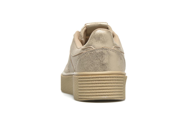 Deportivas I Love Shoes THAMI Oro y bronce vista lateral derecha