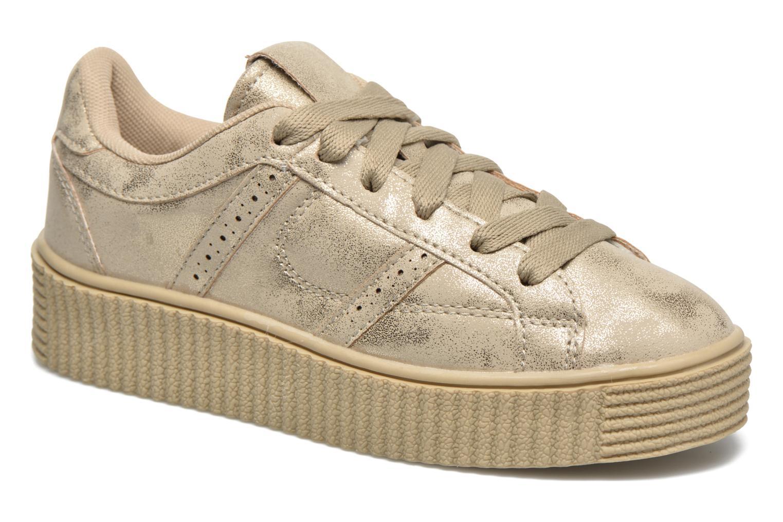 Deportivas I Love Shoes THAMI Oro y bronce vista de detalle / par