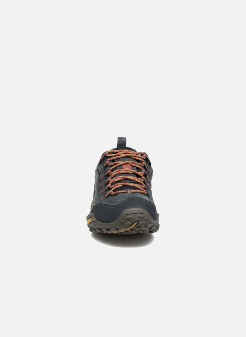Chaussures de sport Merrell Intercept Bleu vue portées chaussures