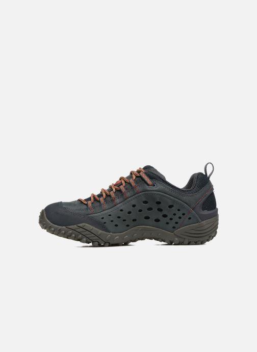 Chaussures de sport Merrell Intercept Bleu vue face