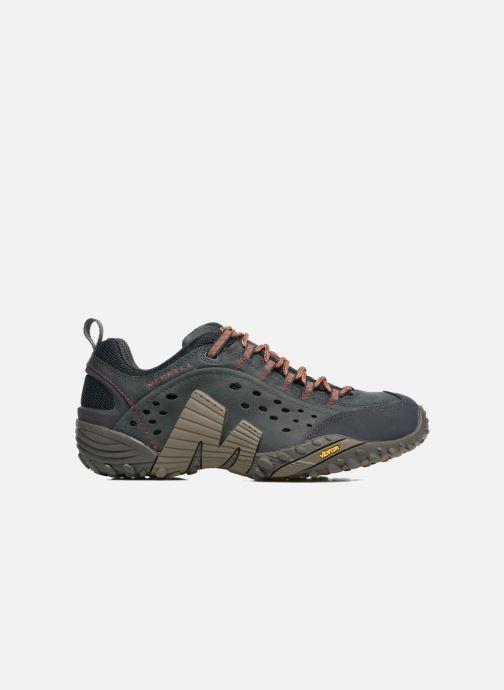 Chaussures de sport Merrell Intercept Bleu vue derrière