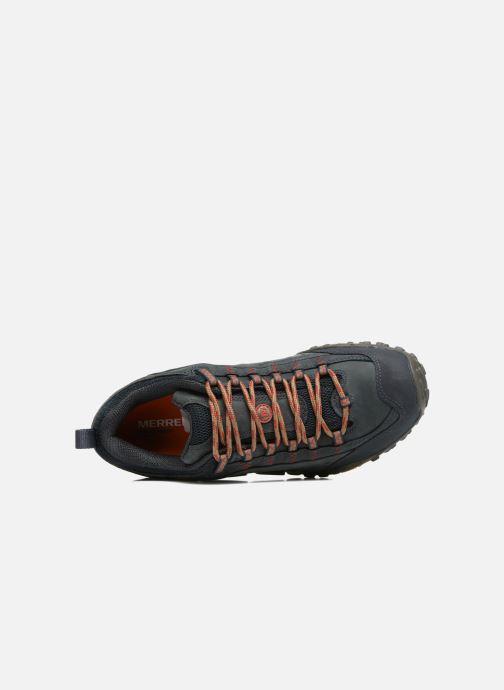 Chaussures de sport Merrell Intercept Bleu vue gauche