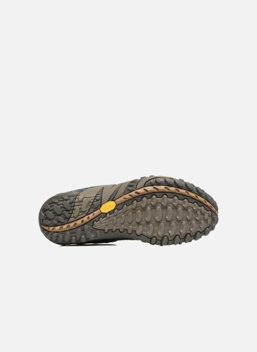 Chaussures de sport Merrell Intercept Bleu vue haut