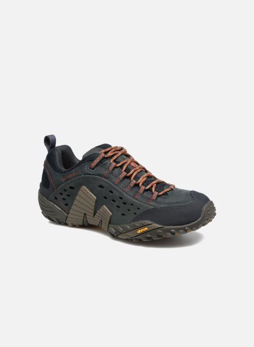 Chaussures de sport Merrell Intercept Bleu vue détail/paire