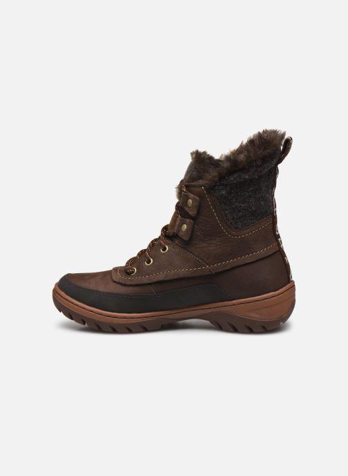 Chaussures de sport Merrell Sylva Mid Lace Waterproof Marron vue face