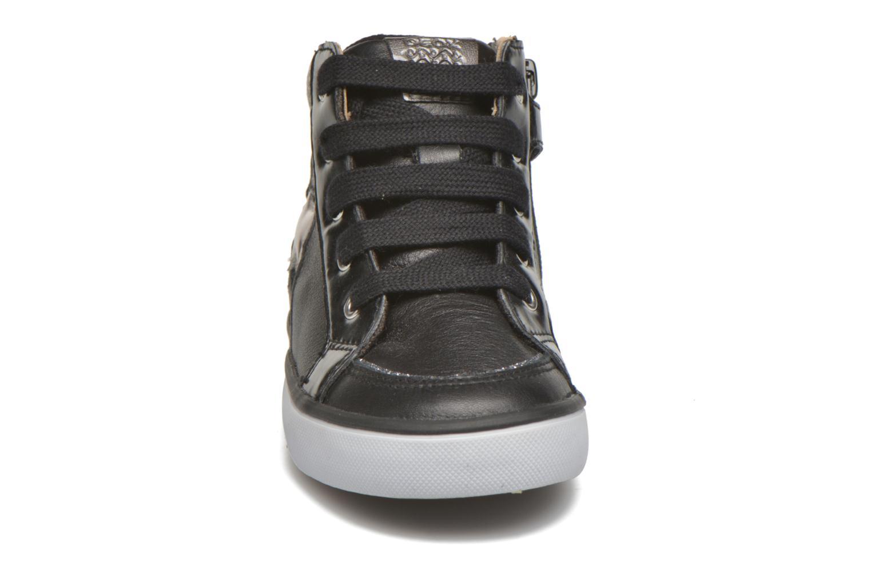 Sneakers Geox B Kiwi Girl B54D5E Zwart model