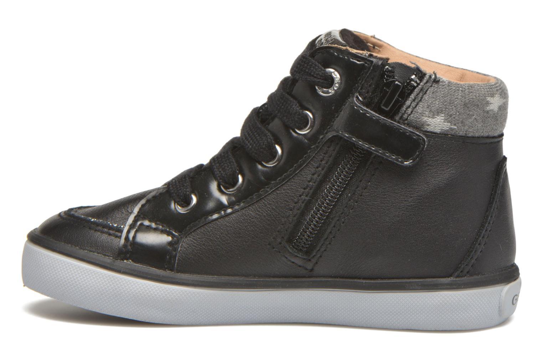Sneakers Geox B Kiwi Girl B54D5E Zwart voorkant