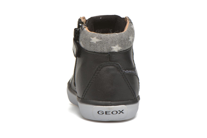 Sneakers Geox B Kiwi Girl B54D5E Zwart rechts