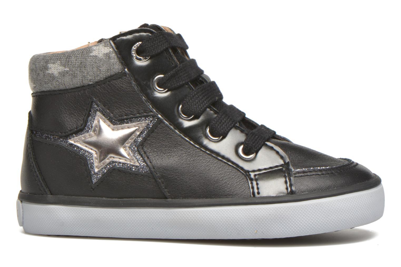 Sneakers Geox B Kiwi Girl B54D5E Zwart achterkant
