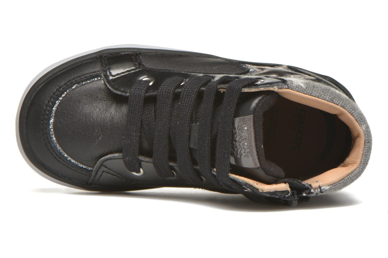 Sneakers Geox B Kiwi Girl B54D5E Zwart links