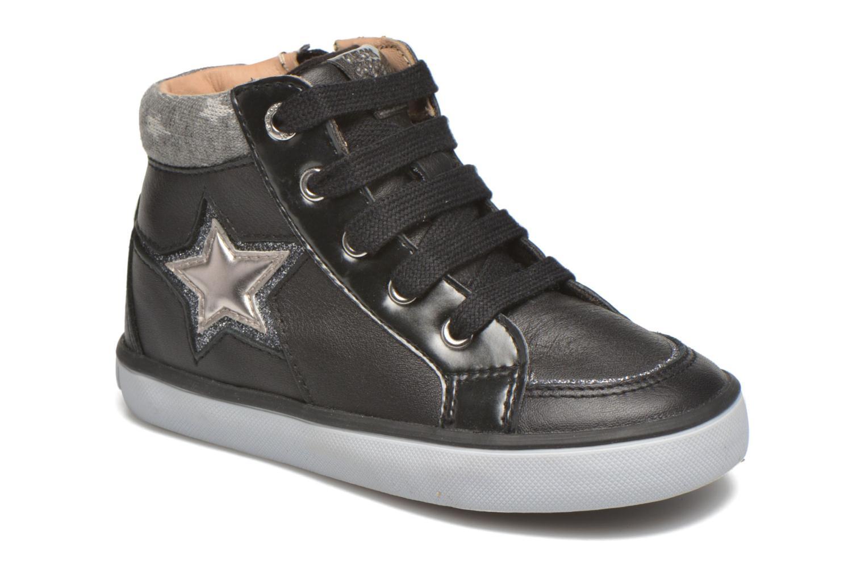 Sneakers Geox B Kiwi Girl B54D5E Zwart detail