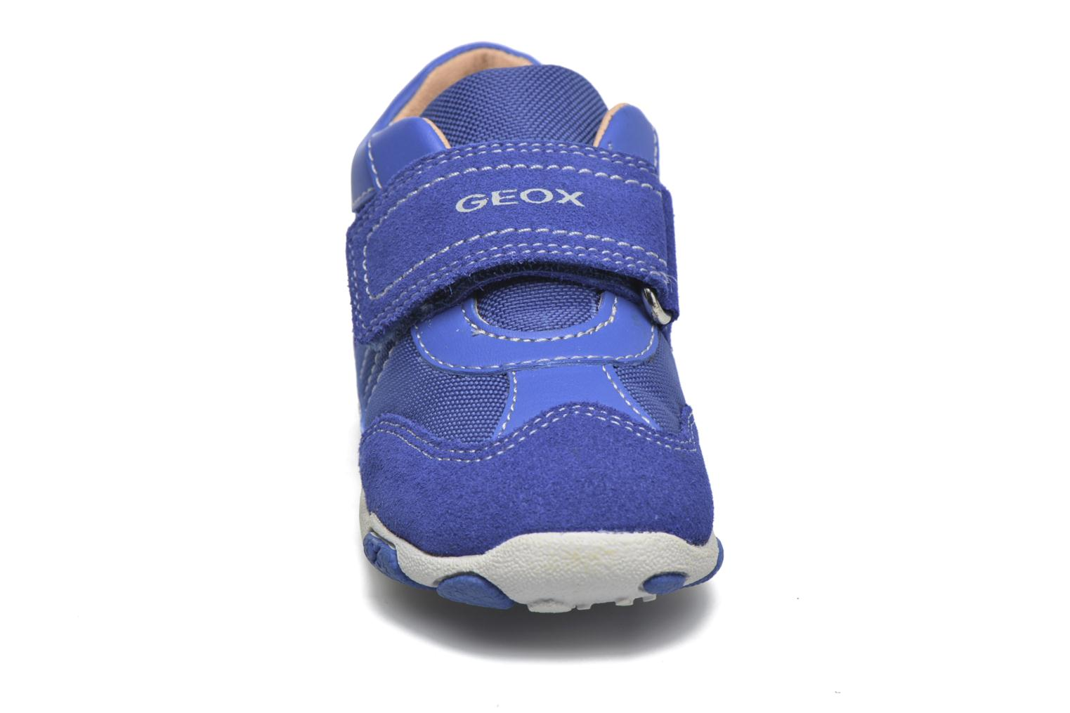 Trainers Geox B Balu' Boy B5436D Blue model view
