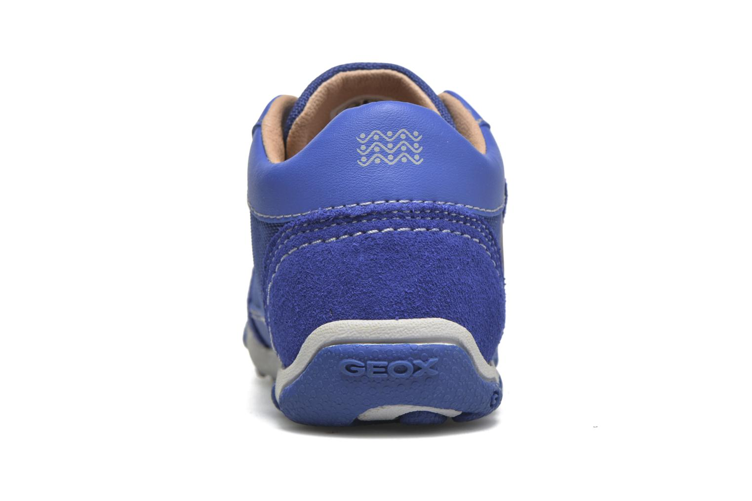 Trainers Geox B Balu' Boy B5436D Blue view from the right
