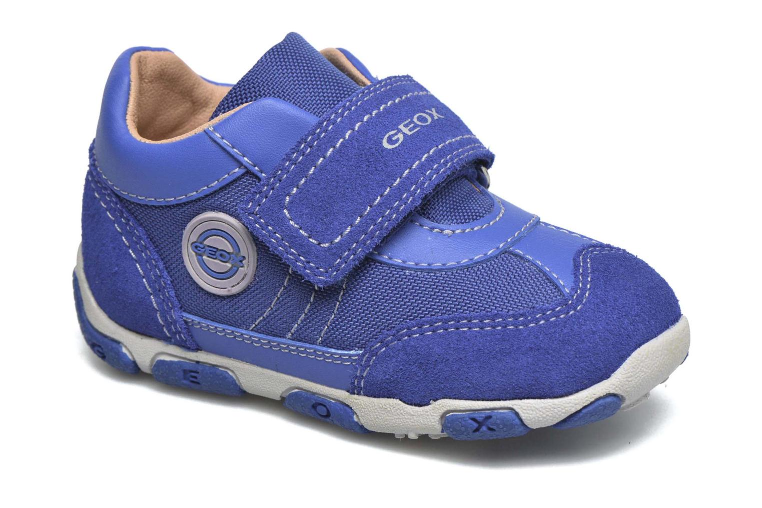 Trainers Geox B Balu' Boy B5436D Blue detailed view/ Pair view