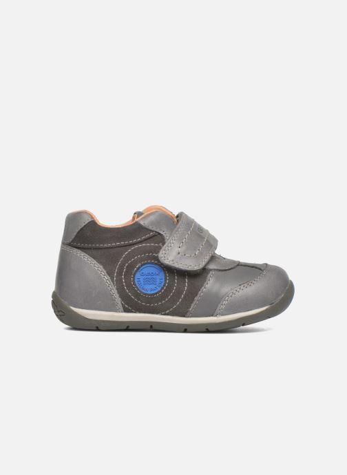 Zapatos con velcro Geox B Each Boy B540BD Gris vistra trasera