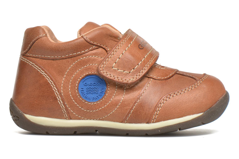 Chaussures à scratch Geox B Each Boy B540BD Marron vue derrière