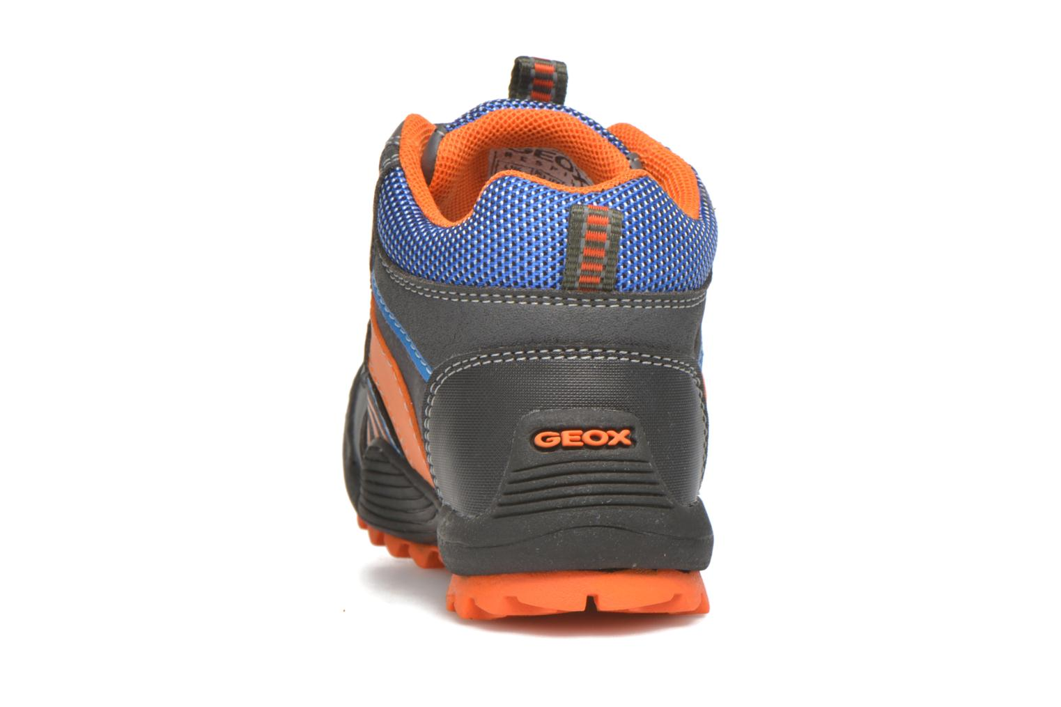 Ankle boots Geox B Savage B ABX B540CA Grey view from the right
