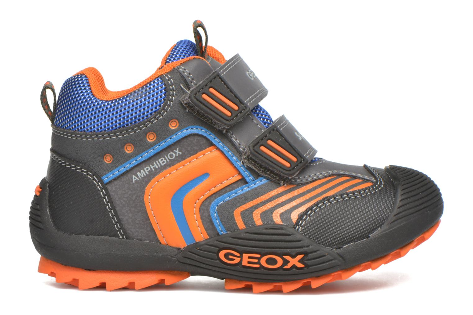 Ankle boots Geox B Savage B ABX B540CA Grey back view