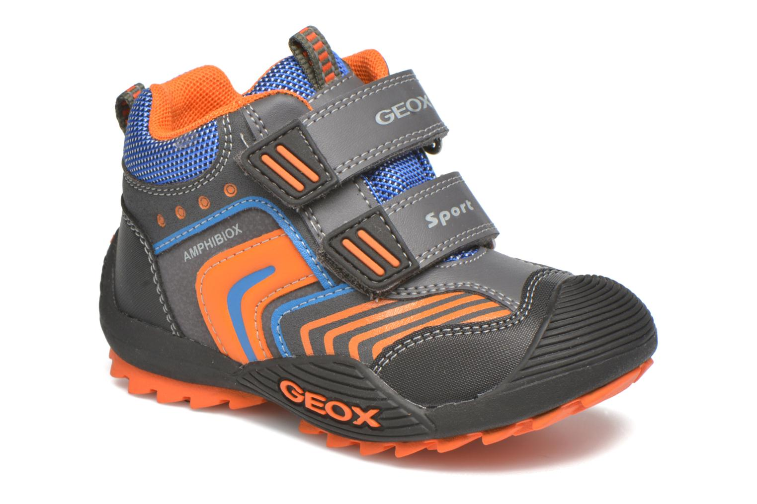 Ankle boots Geox B Savage B ABX B540CA Grey detailed view/ Pair view