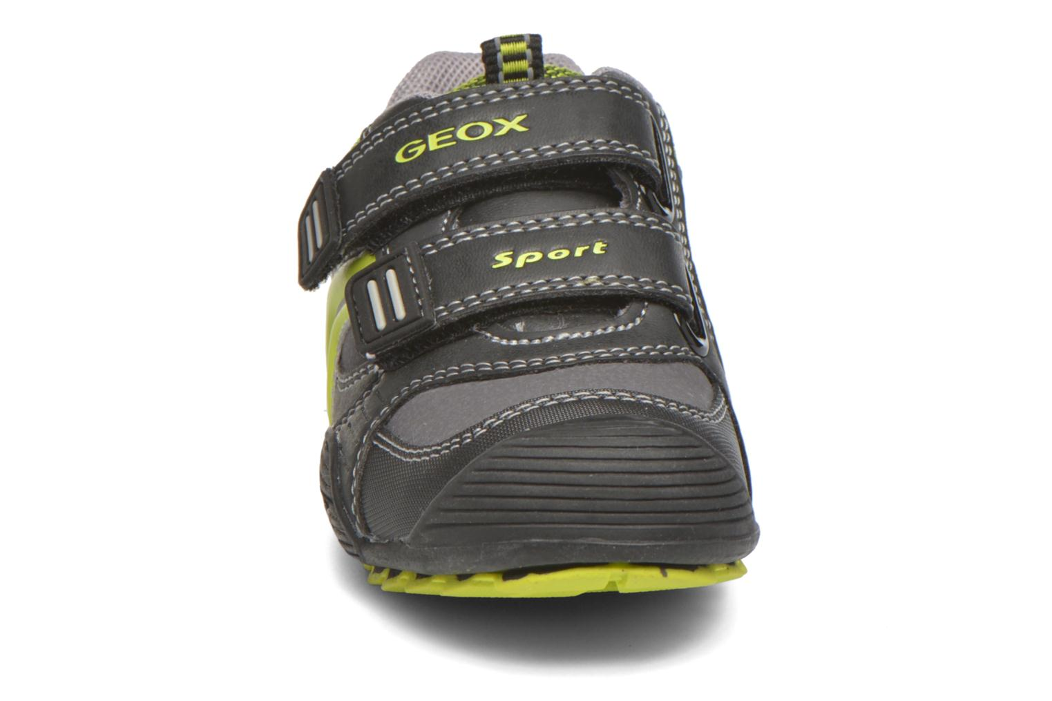 Trainers Geox Baby Savage B5424A Black model view
