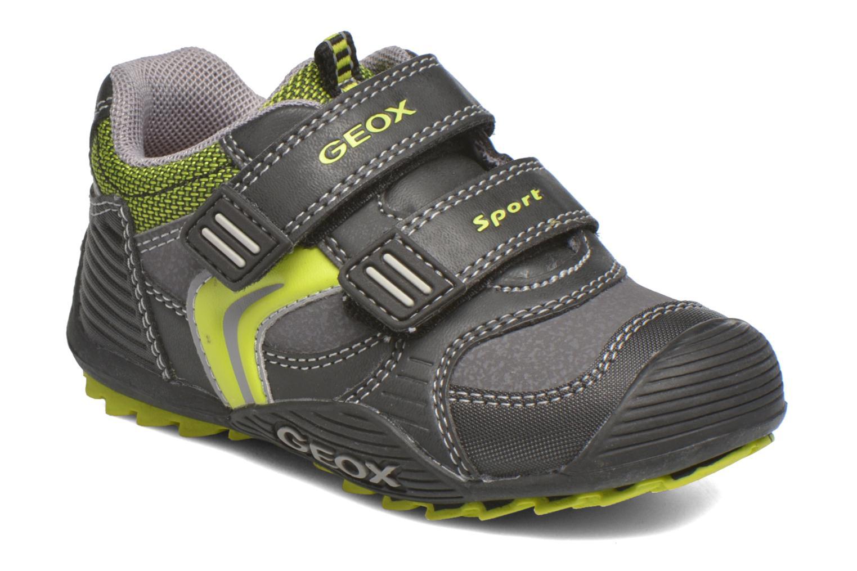 Sneakers Geox Baby Savage B5424A Zwart detail