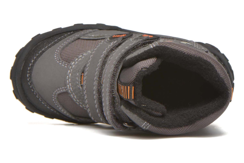 Boots en enkellaarsjes Geox B Gulp B Boy ABX B4402D Grijs links
