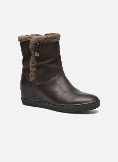 Bottines et boots Geox D Amaranth High B AB D44L2C Marron vue détail/paire