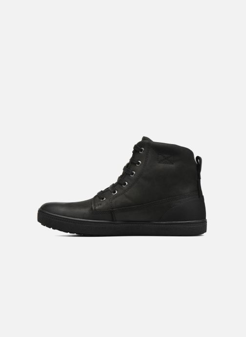 Bottines et boots Geox D Amaranth B ABX D44Z4B Noir vue face