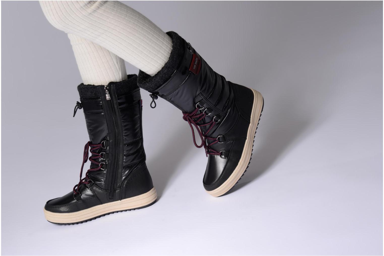 Bottines et boots Tom Tailor Angelle Noir vue bas / vue portée sac