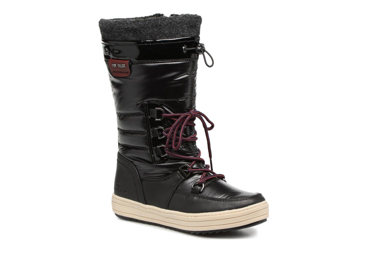 Bottines et boots Tom Tailor Angelle Noir vue détail/paire