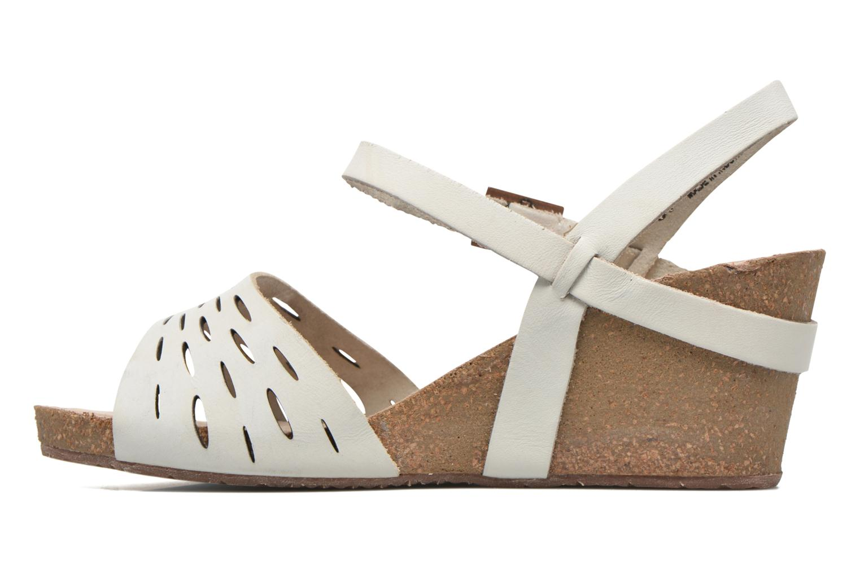 Sandali e scarpe aperte TBS Riffah Bianco immagine frontale