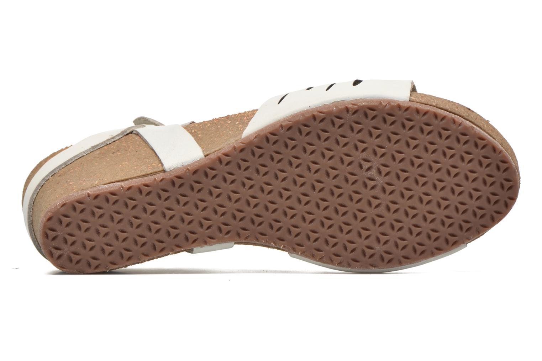 Sandali e scarpe aperte TBS Riffah Bianco immagine dall'alto