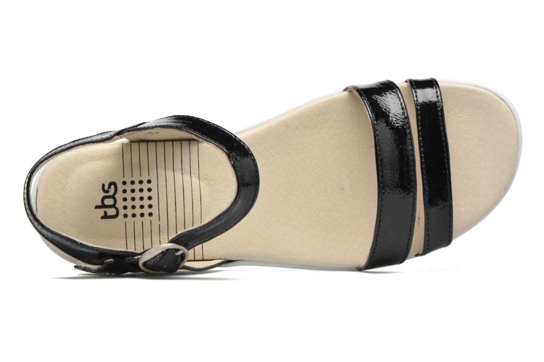 Sandali e scarpe aperte TBS Nikkia Nero immagine sinistra