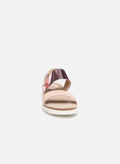 Sandals TBS Tamara Pink model view